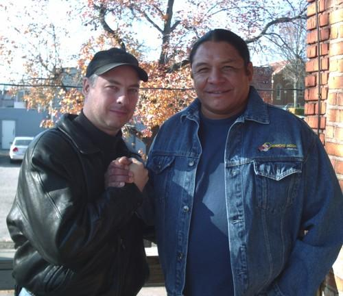 11-18-2006 photo with Steve Reevis #RIP